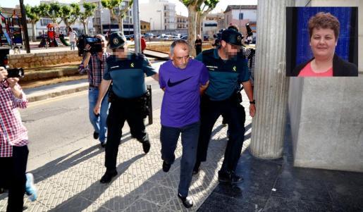 Lucía Patrascu fue asesinada en 2016. En la imagen, el presunto autor del crimen.