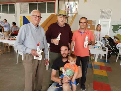 Imagen de los Tomeus: Tomeu Camps (de 17 meses); Tomeu Beltran (de 88 años) y Tomeu Rosselló de Andratx, entre otros.