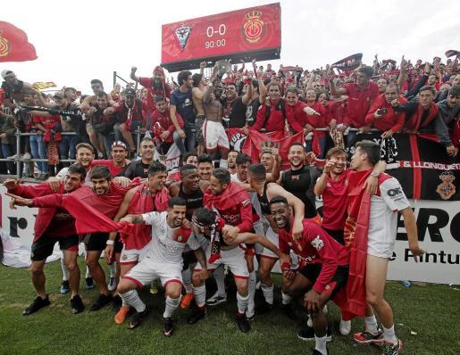 El Mallorca se ganó la plata en Anduva con la suficiencia inherente a un equipo que ha gobernado de principio a fin.