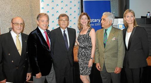 Jerónimo Saiz, Emilio Martínez- Almoyna, Javier Cortés, Isabel Bonet, Ramón Montis e Inma Sanguino.