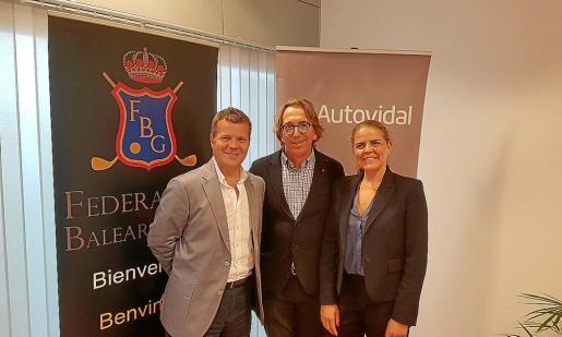 El concesionario y la Federación Balear de Golf han firmado un acuerdo de patrocinio.