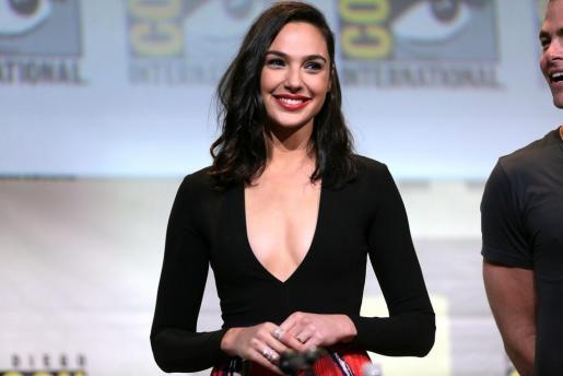 La actriz israelí Gal Gadot durante una una convención de la Comic Com.
