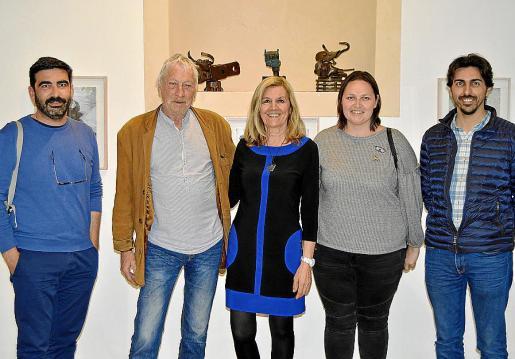 Andreu Mas, Rudy Schwizgebel, Miquela Vidal, Aina Manresa y Bernat Roig.