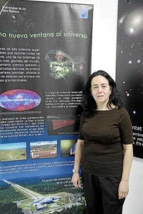 Alicia Sintes, doctora en Física de la UIB.