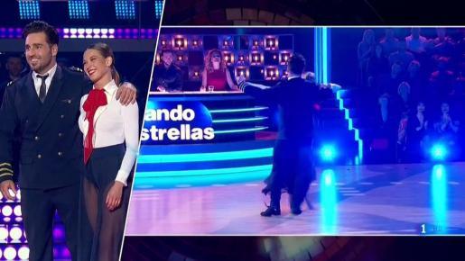 La pareja durante una reciente actuación en el programa de televisión Bailando con las estrellas.