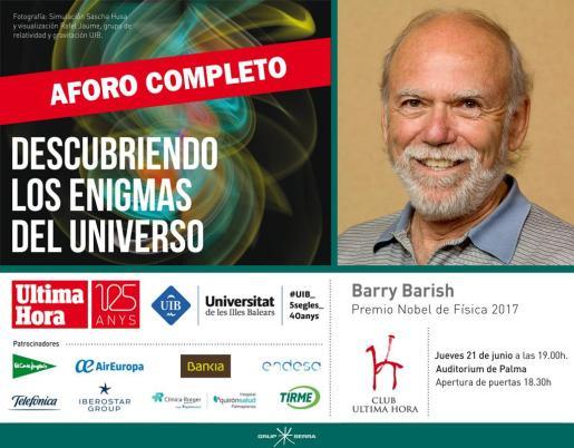 conferencia, Descubriendo los enigmas del universo