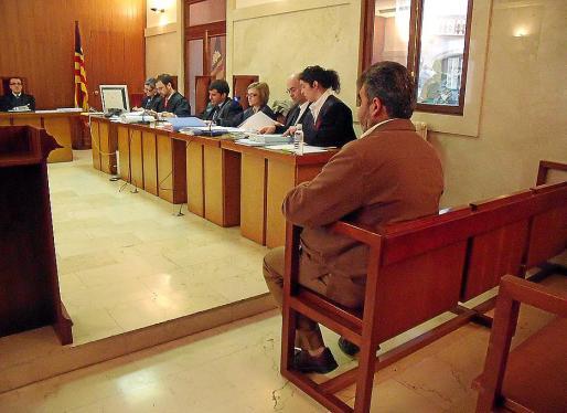 Imagen del juicio por abusos sexuales celebrado en la Audiencia Provincial de Palma.