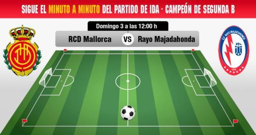 Real Mallorca-Rayo Majadahonda, en directo