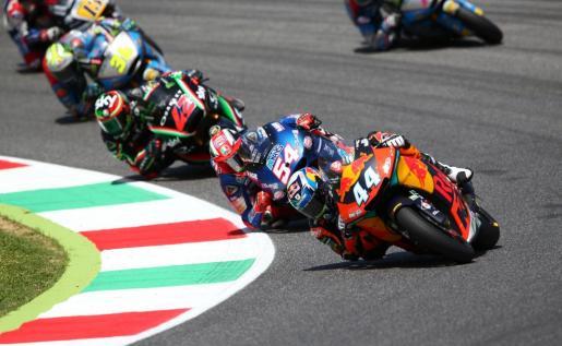 Joan Mir acaba tercero en el Gran Premio de Italia.