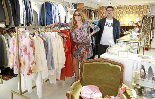 Simona y Fabrizio regentan este establecimiento situado en el corazón de Palma.