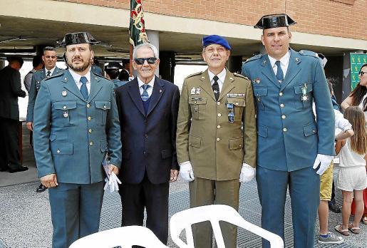 Marcos López, Joaquín López, Miguel López y Juanjo Amengual.