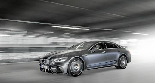 Mercedes-AMG lanzará el próximo mes de septiembre por un período limitado de 12 meses la serie especial Edition 1 del nuevo AMG GT Coupé de 4 puertas
