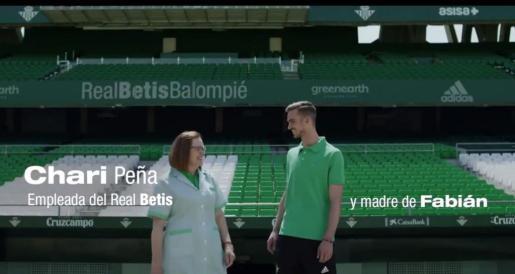 Imagen de la campaña de abonados del Real Betis, presentada este martes.
