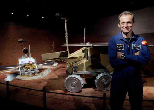 El astronauta Pedro Duque, en una imagen de archivo.