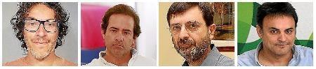 Juan Miqueo, Eduardo Sánchez, Tiago Ameller y Jaume Oliver, emprendedores que particpan en Connect'Up 2018.