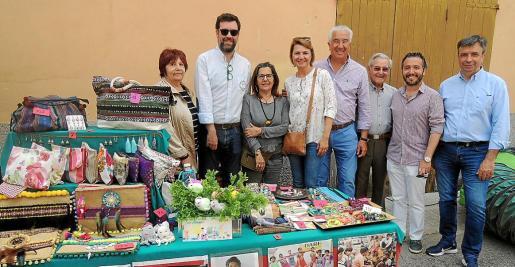 Esperanza Oliver, Antoni Noguera, Lourdes Terrasa, Margalida Duran, Gaspar Oliver, Andreu Garau, Fernando Rubio y Miquel Vidal.