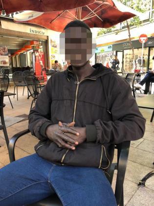 Imagen del hombre detenido.