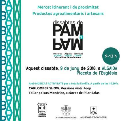 El mercado PAM a PAM llega a Algaida.