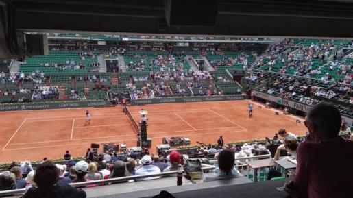 Rafael Nadal y Diego Schwartzman, frente a frente.