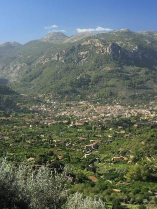 Vista de la Vall de Sóller.