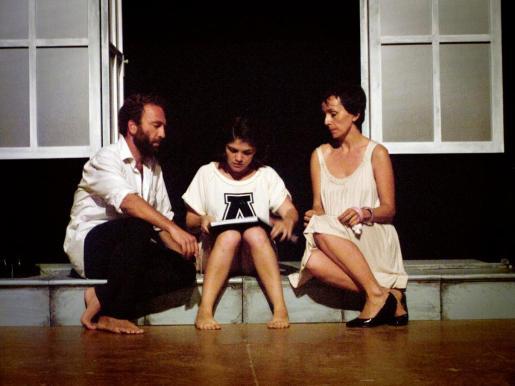 Un detalle de la obra 'Prova', a cargo de la compañía Tic, Teatre Independent de Ciutat.