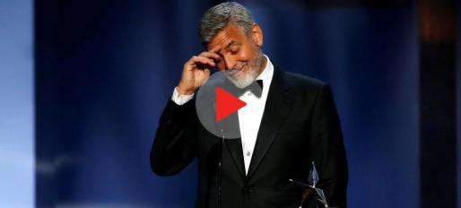 Actor George Clooney accepts the 46th AFI Life Achievement Award in Los Angeles, California, U.S., June 7, 2018. Picture taken June 7, 2018. REUTERS/Mario Anzuoni  TPX IMAGES OF THE DAY PEOPLE-GEORGECLOONEY/