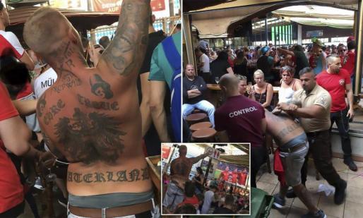 Un hombre fue expulsado de una cervecería por gritar 'Heil Hitler'.