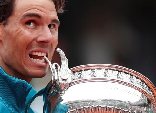 Nadal celebra su undécimo Roland Garros.