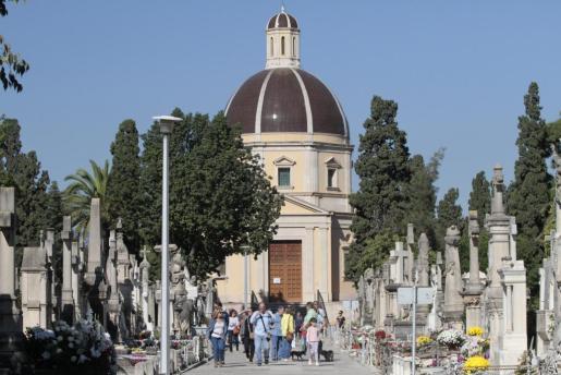 La Funeraria de Palma suprimirá unas 180 tumbas del sector más antiguo del cementerio