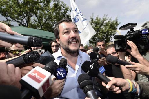 El líder de la Liga Norte y actual ministro del gobierno italiano, en una imagen de archivo.