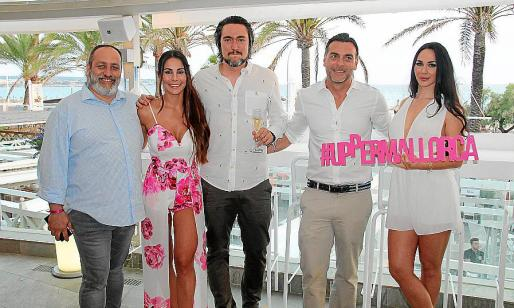 Xavier Ribas, Robyn Cindy, Jesús Castillo, Pedro Marín y Ana Sánchez.