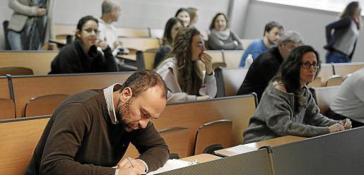 Imagen de una de las pruebas de oposición a la CAIB.