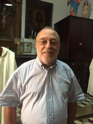 Toni Gómez, rector de Sant Miquel.