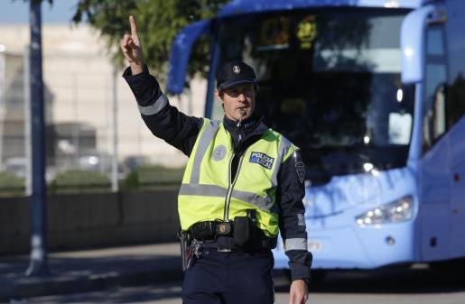 La Policía Local de Palma se hizo cargo de la investigación del accidente.