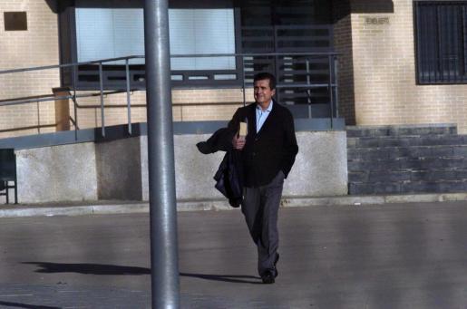 El exministro y expresidente de Baleares, Jaume Matas, en el centro penitenciario de Segovia cumpliendo su anterior condena.