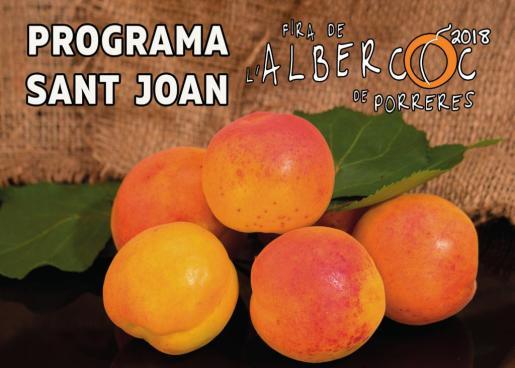 La Fira de l'Albercoc de Porreres forma parte del programa de Sant Joan del Ajuntament.