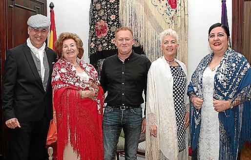 Mateo Jaume, María Fullana, Jordi Amorós, Marta Reynés y Soledad Hidalgo.
