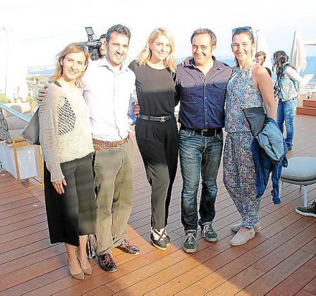Cristina García, Pau Vich, Sandra Seeling, Pablo Valero y Mónica Cifre.