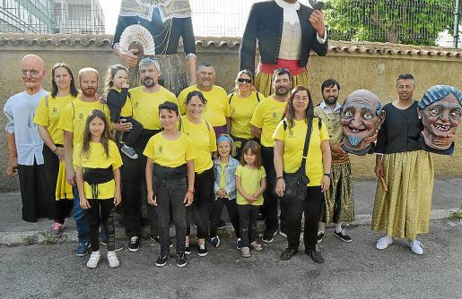 Amics de Gegants de Sant Llorenç fue uno de los grupos participantes.