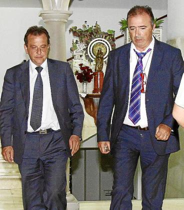 Los fiscales Pedro Horrach y Miguel Ángel Subirán.