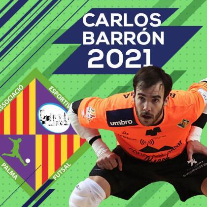 El Palma Futsal renueva a Carlos Barrón hasta 2021