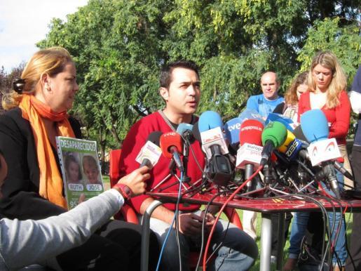 El tío materno de los menores desaparecidos en Córdoba, Estanislao Ortiz.