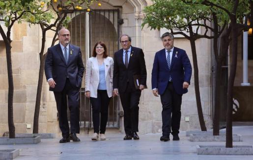 Una de las primeras decisiones del nuevo Govern de Quim Torra ha sido volver a poner en marcha la acción exterior de la Generalitat.