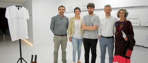 Llorenç Carrió, Francisca Niell, Tomeu Sastre, Fran Reus y Dolores Martínez-Echevarría.