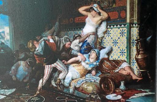 'Assalt a l'harem', de Anckerman, un BIC que iba a ir, en principio, al Museu de Mallorca.