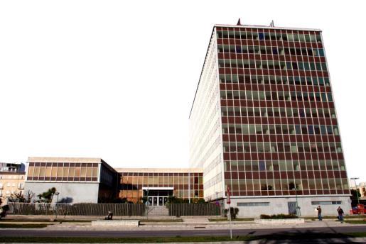 Imagen del polémico edificio de Gesa en Palma.