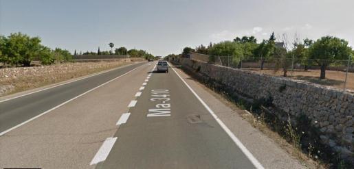 El accidente tuvo lugar en un tramo de vía recto.