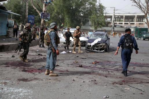 Afganistán atraviesa una de sus etapas más sangrientas tras el final de la misión de la OTAN en 2015.