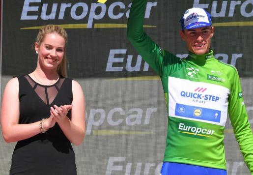 El artanec ha logrado el maillot verde como mejor joven.