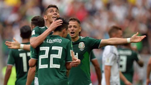 México da la sorpresa derrotando a Alemania